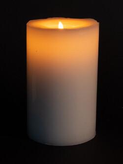 Pilarlys, blank, 15 cm - bakside